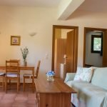 armchair in Skiathos Villa Jasmin two bedroom apartment