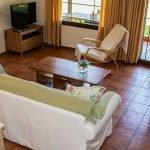 sitting area in Skiathos Villa Jasmin