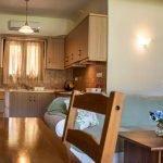 Kitchen two bedroom apartment in Skiathos Villa Jasmin