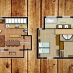 floor plan of three bedroom villa apartment