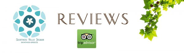 reviews from trip advisor for Skiathos Villa Jasmin