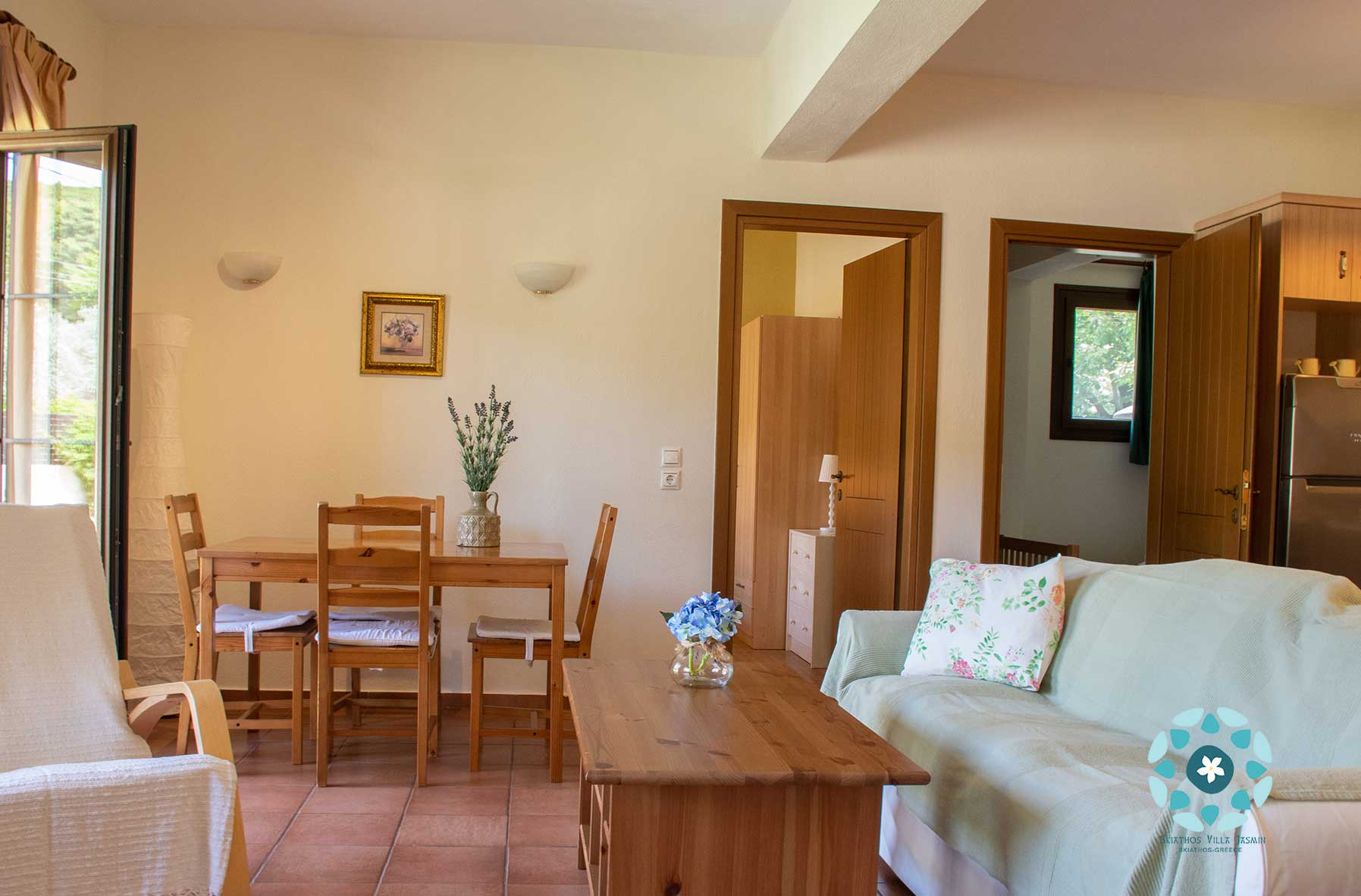skiathos villa two bedroom apartment